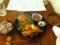 20110625の夕食。トアル食堂。豚肉のキムチ炒め。