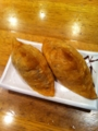 20110725の夕食。麺家@京都駅4~5番ホーム。いなり寿司。