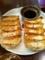 20110804の夕食、チャオチャオ。ハイパーニンニク餃子、九条ネギ餃子。