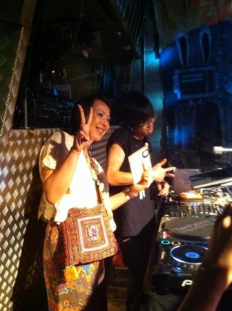 20110812の音楽。club vijon。西村愛さんとKさん。
