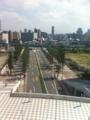 20110910のイベント。京セラドーム。上からの眺め。