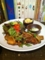 20111016の夕食。トアル食堂。鶏肉のマーマーレード炒め。