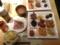 20111121の夕食。柿安。バイキング。