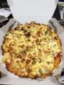 20111203の夕食。ドミノピザ。