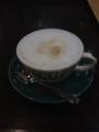 20120112の喫茶。小倉駅のカフェエスタシオン小倉。