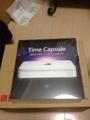 2012020に到着。appleからTime Capsule。