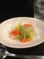 20120128の夕食。カレーコンドル。ピクルス。
