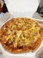 20120210n食事。ドミノピザ。
