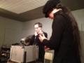 20120218の音楽。神戸テクミー。四方先生と安井さん。