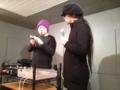 20120218の音楽。神戸テクミー。nakamuraさんと安井さん。