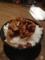 20120308のらーめんむつみ屋。ミニ肉味噌丼。