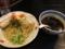 20120524の夕食。麺家いろは。つけ麺。