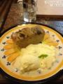 20120526のaran cafe。バナナケーキ。