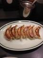 20120708の夕食。大阪王将。餃子。