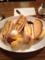 20120904の夕食。ニューYC。オムレツサンド。