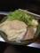 20120905の夕食。なかむら。とん平焼。
