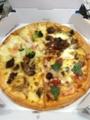20121221の夕食。ドミノピザ。