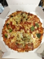 20130101の夕食。ドミノピザ。