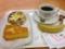 20130109の朝食。ヴィドフランス。