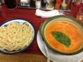 20130305の夕食。来夢来人。トマトつけ麺。