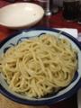 20130323の夕食。来夢来人。トマトつけ麺。
