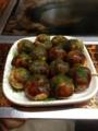 20130322の夕食。なかむら。たこ焼き。