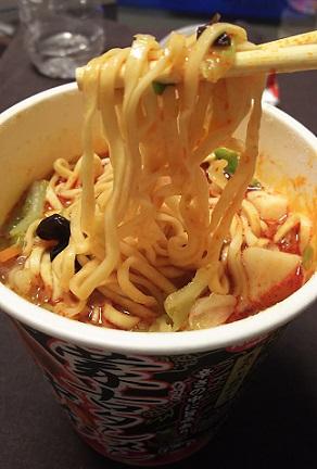 蒙古タンメン中本-麺寄せ