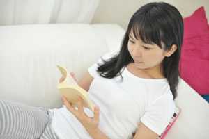 小説を読むことは嫁の貴重な娯楽