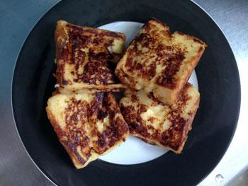 超簡単にできるおいしいフレンチトーストの作り方