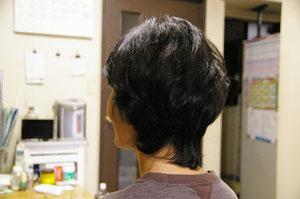 看護師の髪型 ショートヘアー