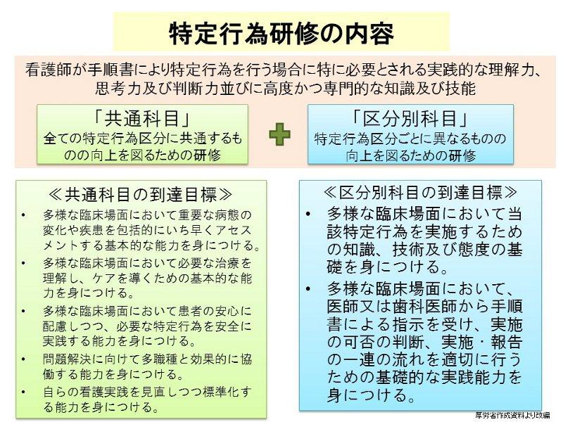 特定行為研修の実施方法