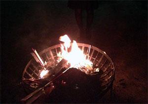 初詣に行ってお焚き上げしました。