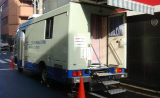 レントゲン車(健診バス)