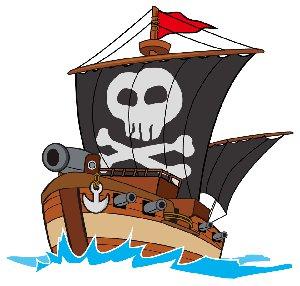 ドクロ 海賊船