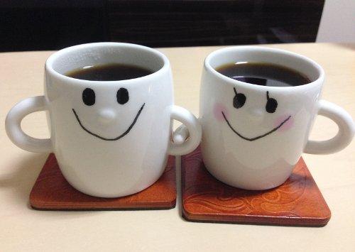 二人のコーヒーカップ