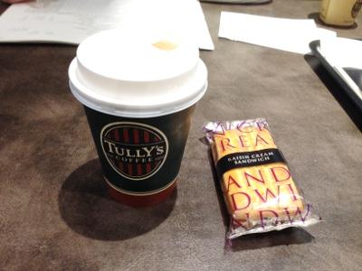 タリーズでコーヒー