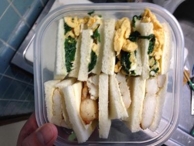 惣菜サンド