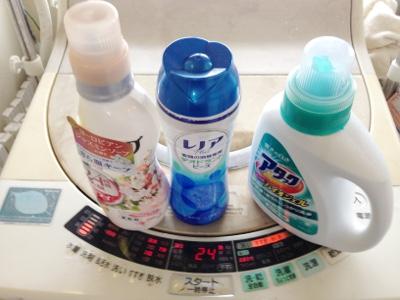 洗濯 柔軟剤など