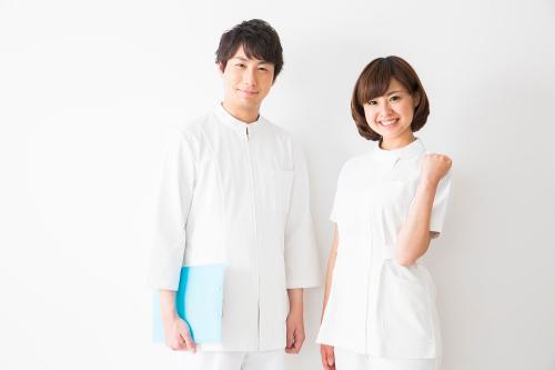 看護師の白衣