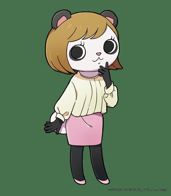 営業部所属 パン田パンダ子