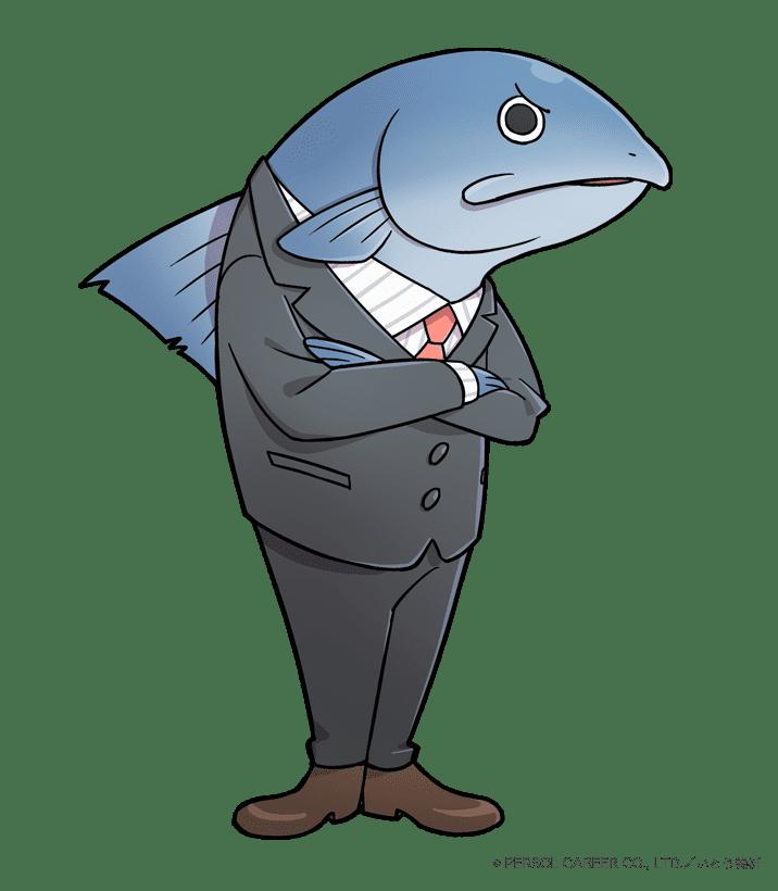 コンプライアンス部所属 鮭ハラスさん