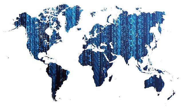 世界地図のイメージ