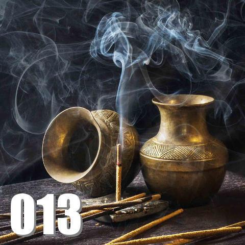煙の出る壺