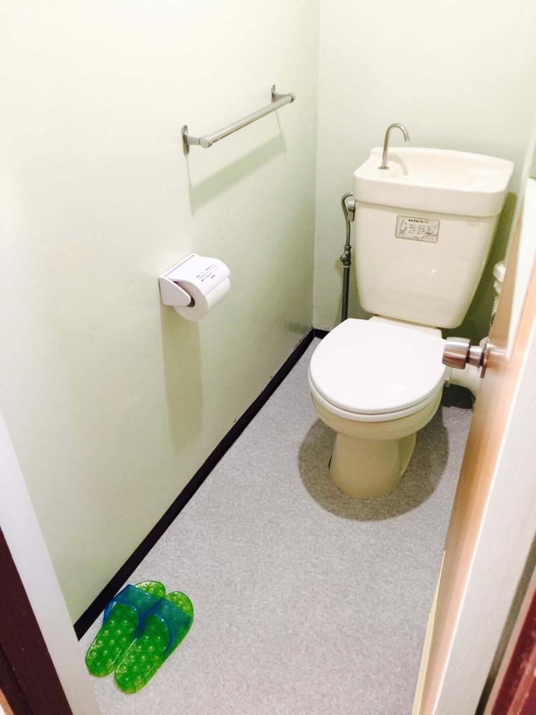 我が家のトイレ