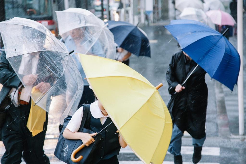 雨の日もある