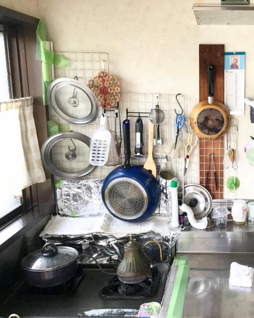 これが私が行った時の台所
