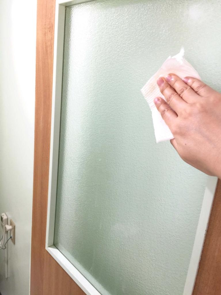 トイレそうじ2 ドア窓