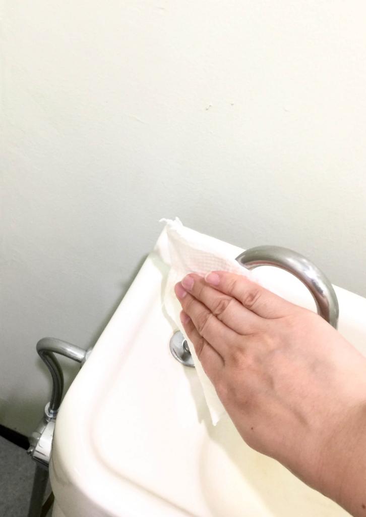 トイレそうじ6 水タンク