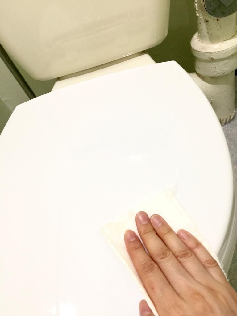 トイレそうじ8 便座