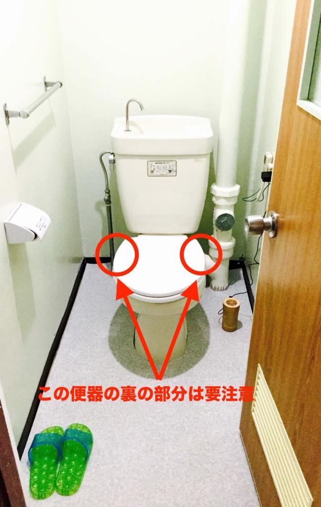 トイレそうじ13-1 便器の裏は最強に汚れている